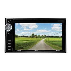 XO Vision 6.2-Inch Touch Screen DVD Receiver with Built-In Bluetooth, Standard Packaging
