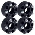 "DCUAUTO 4pc 5x4.75 Hubcentric Wheel Spacers Compatible with Chevrolet 5 Lug, 2"" Wheel Spacer with 12x1.5 Studs for Blazer Camaro Corvette S10, GMC Jimmy Sonoma, Cadillac XLR Eldorado"