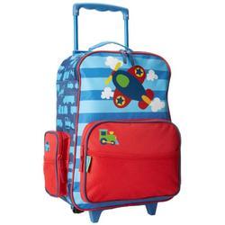 Stephen Joseph boys Airplane Stephen Joseph Classic Rolling Luggage, Airplane, 14.5 x 6.5 18 US