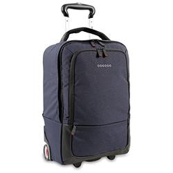 J World New York Sway Laptop Rolling Backpack, Navy, One Size