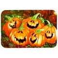 The Holiday Aisle® The Holiday Aisle Such a Glowing Personality Pumpkin Halloween Glass Cutting Board Glass, Size 0.15 H x 15.38 W x 11.25 D in