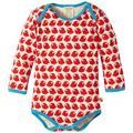 Loud + Proud - Body - Manches Longues - Mixte bébé - Rouge (Tomato) - FR: 9 Mois (Taille Fabricant: 74/80)