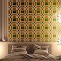 J Boutique Pochoir pochoirs mur marocain Lesley Grande Taille, peinture pour mobilier de décoration DIY