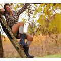 Venoflex® Simply Coton,Bas ou Collant de compression médicale pour femme Classe 2 taille 2 Long couleur Noir