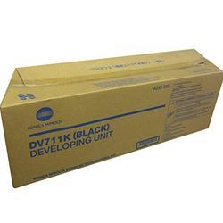 A2X203D DV711K Genuine Konica Minolta Developer, 120000 Page-Yield, Black