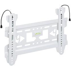 """4WORLD Slim-Support Mural Universel-pour écran LCD/LED/Plasma/TV 3D (15/37"""")-Blanc"""