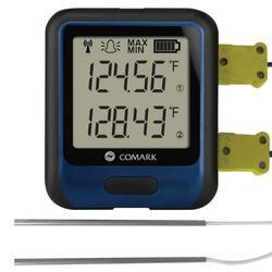 Comark RF314DUAL Temperature Data Logger w/ Dual Probes, -454?F to 2372?F Temperature Range