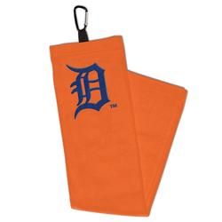 """""""WinCraft Detroit Tigers Embroidered Golf Towel with Carabiner"""""""