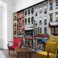 Bilderwelten Papier peint intissé - Jour froid à NY - Mural Format Paysage papier peint photo intissé tableau mural photo 3D mural, Dimension: 290cm x 432cm