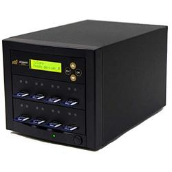 Acumen Disc 1 to 7 SD Duplicator - Multiple Secure Digital & MicroSD SDHC SDXC Micro Flash Drive Memory Card Copier & Sanitizer (DOD Compliant) System - 35mb per Seconds