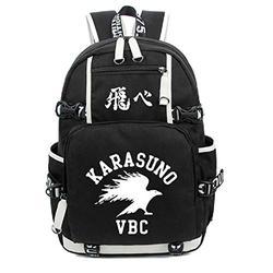 YOYOSHome Haikyuu!! Anime Cosplay Noctilucence Bookbag Messenger Bag Backpack School Bag
