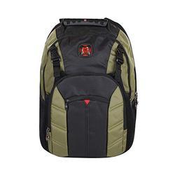 SwissGear Sherpa 16 Laptop Backpack Travel School Bag (Olive)