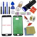 for Samsung Galaxy S7 Screen Replacement-[Direct Screen], Sunmall Front Outer Lens Glass Screen Replacement Repair Kit LCD Glass Repair Kit for Samsung Galaxy S7 G930 G930F G930A G930T.(Black)