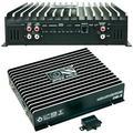 BASS FACE DB1.2 amplificateur Car Voiture monophonique 1 Canal de 1250 Watt rms 1 ohm 2000 Watt Max spécifique pour subwoofer avec contrôle remotre du sub à Distance, en Classe d