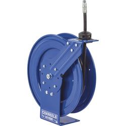 Coxreels Performance Series Compact Hose Reel - With 1/2Inch x 30Ft. PVC Hose for Oil, Max. 2500 PSI, Model P-MP-430
