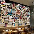 Lwcx Custom 3D Fond d'écran couleur rétro Européenne Bibliothèque Bibliothèque Salon Contexte Les muraux de 400X280CM