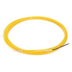uxcell 66 Feet (20M) Glass Fiber Fish Tape Dia 0.12in (3mm) Electrical Wire Threader Cable Running Rods Fish Tape Pulling