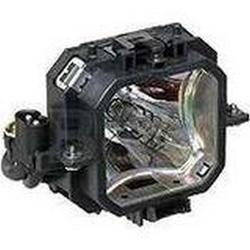 Original Philips Lamp & Housing for the Epson Powerlite 735 Projector - 240 Day Warranty