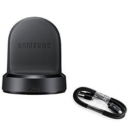 Genuine Samsung Qi Wireless Charging Dock Cradle Charger For Gear S3 Classic,Frontier SM-R760 with 3FT Micro USB & Stylus (New)