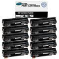 TonerPlusUSA New Compatible CE278A 78A Toner Cartridge for HP P1560 P1566 P1600 P1606 M1536 (Black, 10 Pack)