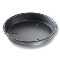 "Chicago Metallic 91135 13"" Deep Dish Pizza Pan, BAKALON, 1 1/2"" Deep, AMERICOAT Glazed 14 ga Anodized Aluminum"