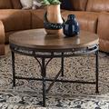 Baxton Studio Austin Coffee Table in Antique Bronze
