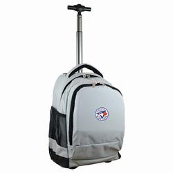 """""""Gray Toronto Blue Jays 19'' Premium Wheeled Backpack"""""""