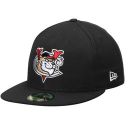 Men's New Era Black Tri-City ValleyCats Authentic Road 59FIFTY Fitted Hat