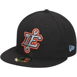 Men's New Era Black Indland Empire 66ers Authentic Home 59FIFTY Fitted Hat
