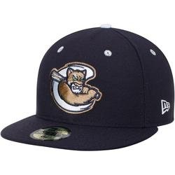 Men's New Era Navy Kane County Cougars Home Authentic Collection 59FIFTY Fitted Hat