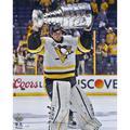 "Marc-Andre Fleury Pittsburgh Penguins 2017 Stanley Cup Champions Autographed 16"" x 20"" Raising Photograph"