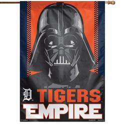 """""""WinCraft Detroit Tigers 28"""""""" x 40"""""""" Star Wars Empire Single-Sided House Banner"""""""