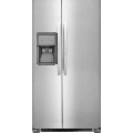Frigidaire FFHX2325T 33 Inch Wide 22.1 Cu. Ft. Energy Star Rated Side by Side Refrigerator with