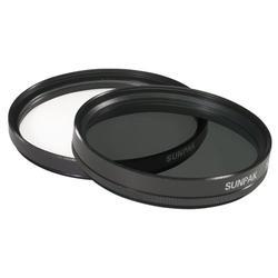 Sunpak CF-7080 TW Ultra-Violet and Circular Polarized Filter Twin Packs 58mm