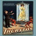 """Buyenlarge 0-587-21625-5-P1218 The Whirling Crystal Cage: Thurston Kellar's Successor Paper Poster, 12"""" x 18"""""""