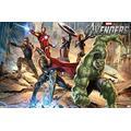 "Trends International Marvel Cinematic Universe - Avengers - Mural Wall Poster, 22.375"" x 34"", Premium Unframed Version"