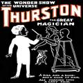 """Buyenlarge 0-587-21627-1-P1218 Lady Fair: Thurston The Great Magician The Wonder Show of The Universe Paper Poster, 12"""" x 18"""""""