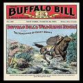 "Buyenlarge ""The Buffalo Bill Stories: Buffalo Bill's Wild Range Riders Paper Poster, 18"" x 27"""