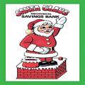 """Buyenlarge 0-587-21651-4-P1218 Santa Claus Savings Bank Paper Poster, 12"""" x 18"""""""