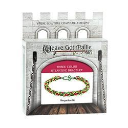 Weave Got Maille Margaritaville Anodized Aluminum 3 Color Byzantine Bracelet Kit