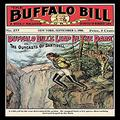 "Buyenlarge ""The Buffalo Bill Stories: Buffalo Bill's Leap in The Dark Paper Poster, 18"" x 27"""
