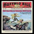 "Buyenlarge ""The Buffalo Bill Stories: Buffalo Bill's Border Ruffians Paper Poster, 18"" x 27"""