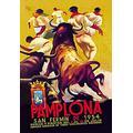 "Buyenlarge 0-587-01257-9-P1827 Pamplona, San Fermin Paper Poster, 18"" x 27"""