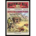"Buyenlarge The Buffalo Bill Stories: Buffalo Bill's Daring Plunge - 16"" X 24"" Fine Art Giclee Print"