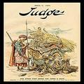 "Buyenlarge 0-587-16132-9-P1218 Judge Magazine: The Straw That Broke The Camel's Back Paper Poster, 12"" x 18"""