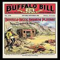 "Buyenlarge ""The Buffalo Bill Stories: Buffalo Bill's Daring Plunge Paper Poster, 18"" x 27"""
