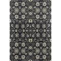 Art Carpet Maison Collection Borderless Woven Area Rug, 8' x 12', Gray/Linen/Mushroom Brown