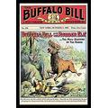 "Buyenlarge The Buffalo Bill Stories: Buffalo Bill and The Robber Elk - 16"" X 24"" Fine Art Giclee Print"