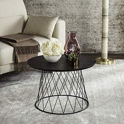 Safavieh Home Collection Roper Retro Mid-Century Black Wood End Table