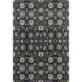 Art Carpet Maison Collection Borderless Woven Area Rug, 6' x 9', Gray/Linen/Mushroom Brown